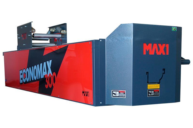 Máquina dobradeira viradeira